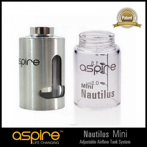 "Aspire Mini Nautilus (BVC) Replacement Tank with ""T"" Window"