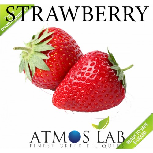 Strawberry Atmos lab E-liquid 10ml