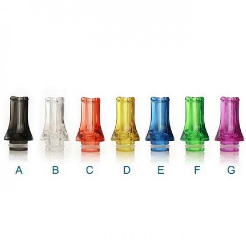 FLAT 510 PLASTIC DRIP TIPS 24,8mm