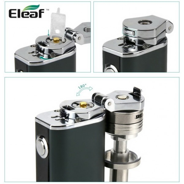 iStick TC40 Adaptor ELEAF bending