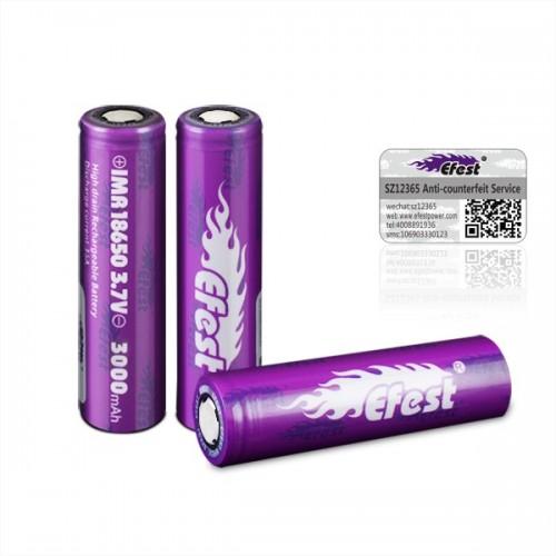 Efest 18650 3000mah 35Α Battery IMR
