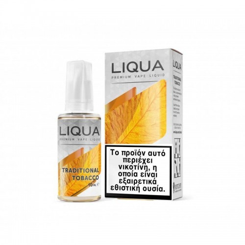 LIQUA Traditional Tobacco 10ml