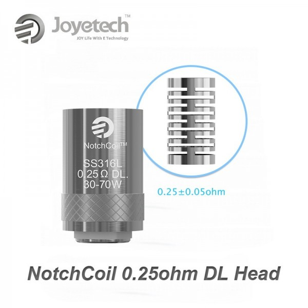 Joyetech NotchcoilTM 0.25ohm DL. Head Αντιστασεις