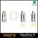 Coils Nautilus X Αντιστασεις