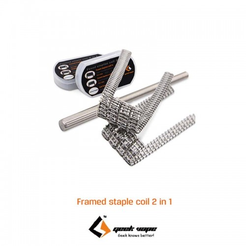 Geekvape Framed Staple Coil 2 in 1 Ετοιμες Αντιστασεις