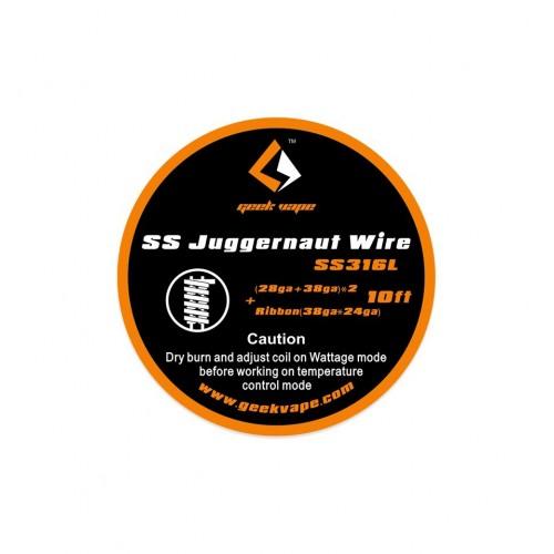 Geekvape SS Juggernaut wire SS316L Συρμα