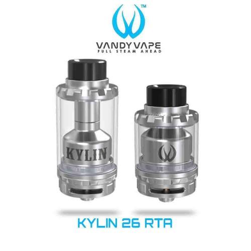 Vandy Vape Kylin 26 RTA Επισκευασιμος Ατμοποιητης