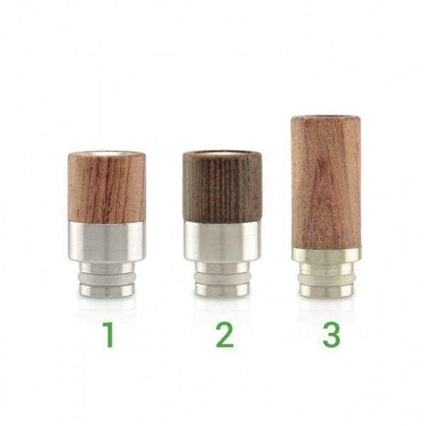 Drip tip Wood & Stainless Steel