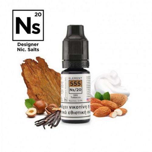 Element NS20 555 Tobacco - Designer Nicotine Salts