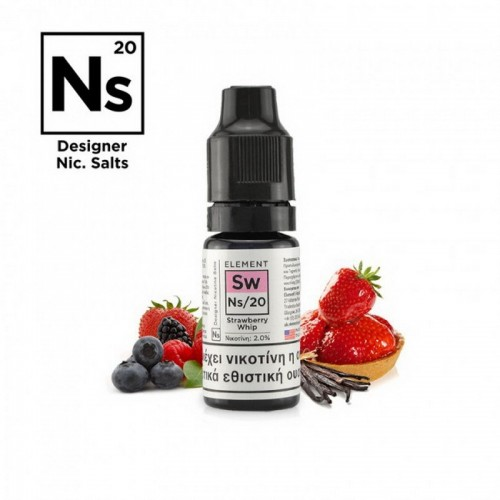 Element NS20 Strawberry Whip - Designer Nicotine Salts
