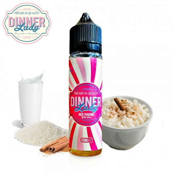 Rice Pudding Dinner Lady Shake & Vape