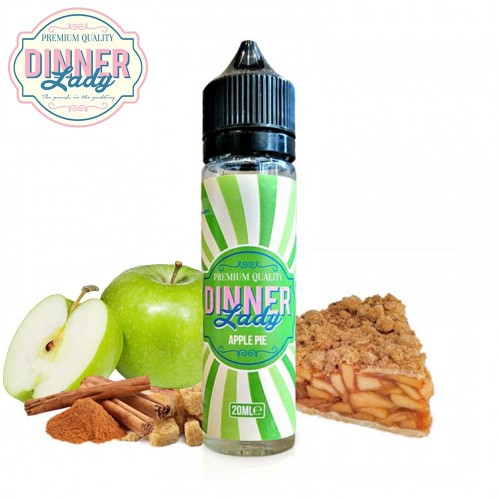 Apple Pie Dinner Lady Shake & Vape 20/60ml