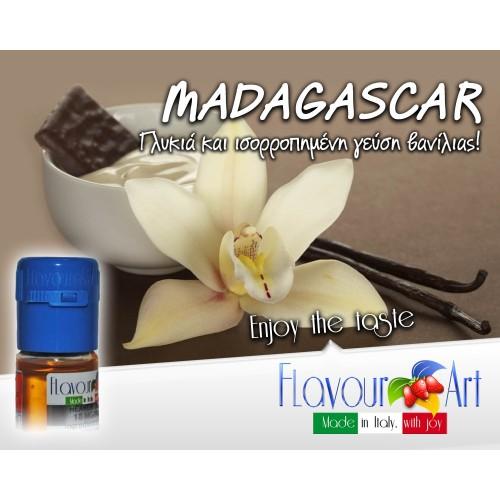 Magadascar (Vanilla) Flavour Art