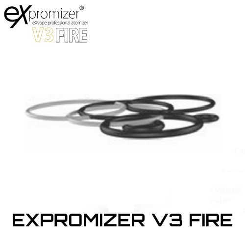EXvape Expromizer V3 Fire RTA O-rings Set