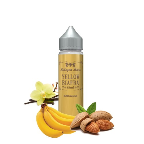 Yellow Biafra Halcyon Haze Shake & Vape 20/60ml
