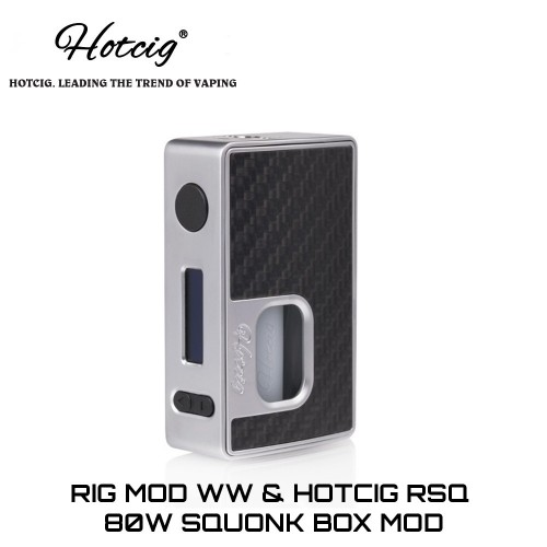 HotCig RSQ 80W Squonk Mod
