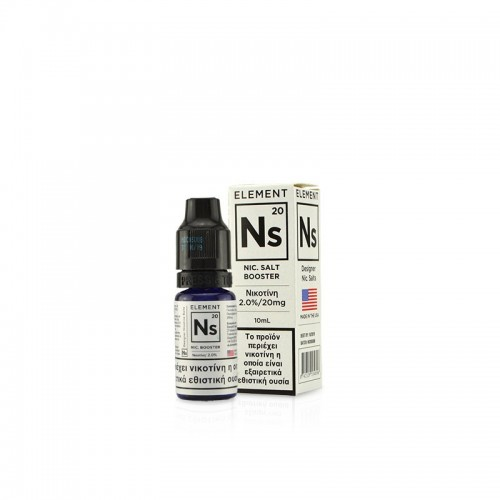Element NS20 Nic Salt Booster - Designer Nicotine Salts
