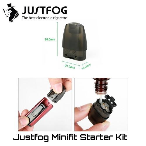 JustFog MiniFit Pods - Ανταλλακτικο Δοχειο Αντισταση