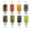 Drip tip Art Glass SS Deck