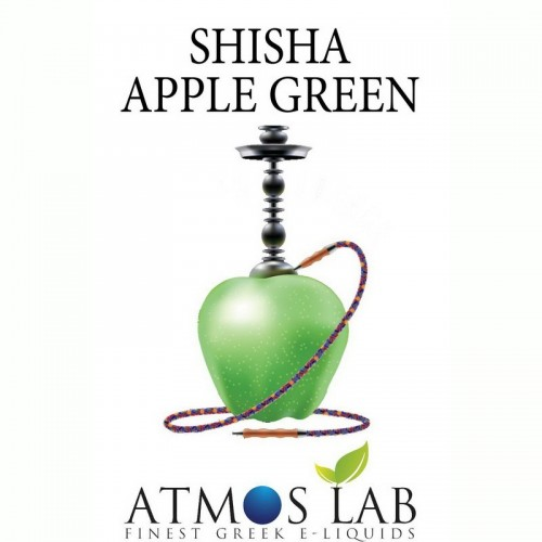 SHISHA APPLE GREEN Ναργιλες DIY ATMOS LAB