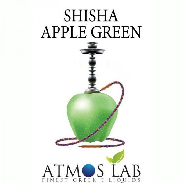 SHISHA APPLE GREEN Ναργιλες DIY ATMOS LAB