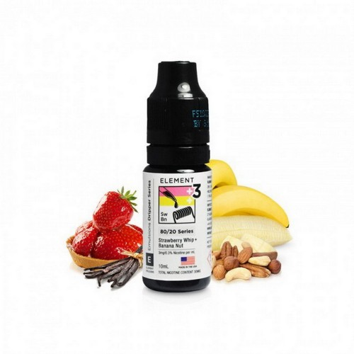 Element Strawberry Whip & Banana Nut - Emulsions Series