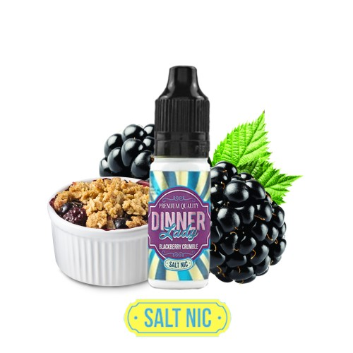 Dinner Lady Blackberry Crumble - Nicotine Salts