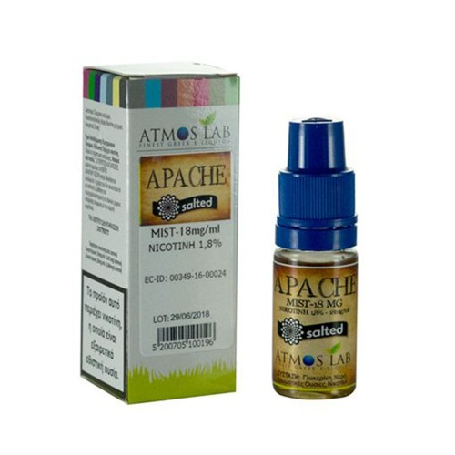 Apache Atmos lab Nicotine Salts 18mg 10ml