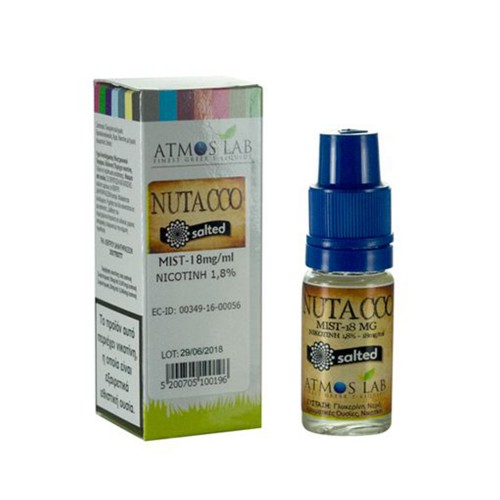 Nutacco Atmos lab Nicotine Salts 18mg 10ml