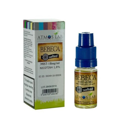 BEBECA Atmos lab Nicotine Salts 18mg 10ml