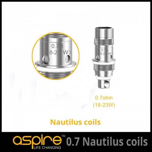 0.7 Ohm Aspire Nautilus BVC Triton mini Coils