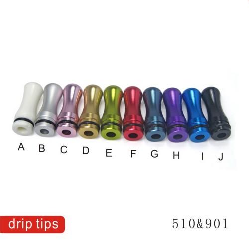 Επιστόμιο Drip Tip αλουμινίου 510
