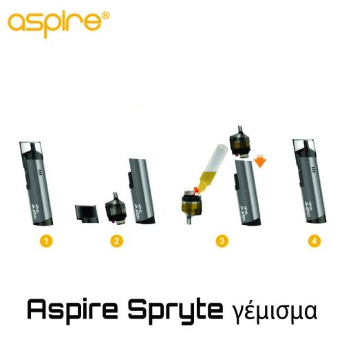 Aspire Spryte AIO Pod - Ανταλλακτικο Δοχειο Αντισταση
