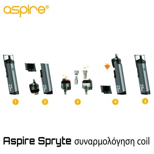 Aspire Spryte BVC Coils - Ανταλλακτική Αντίσταση