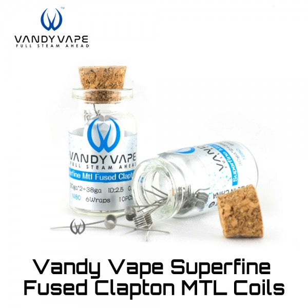 Vandy Vape Superfine MTL Clapton Coils - Ετοιμες Αντιστασεις