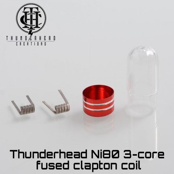Thunderhead 3-Core Fused Clapton Ni80 Coils - Ετοιμες Αντιστασεις