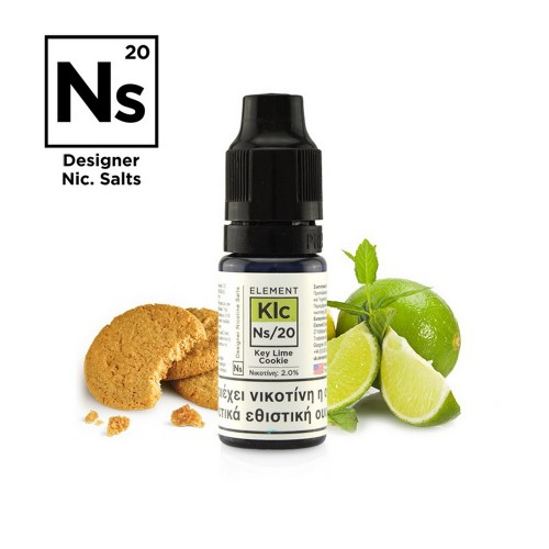 Element NS20 Key Lime Cookie - Designer Nicotine Salts
