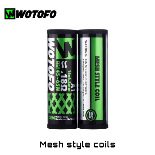 Wotofo Mesh Style Coils - Ετοιμες Αντιστασεις Πλεγματος