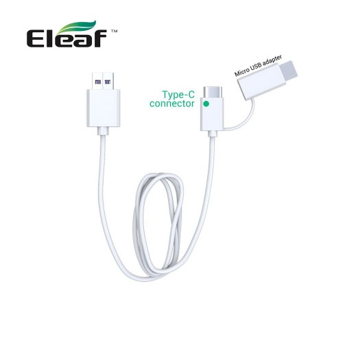 ELEAF micro USB QC 3.0 CABLE Type C Καλώδιο