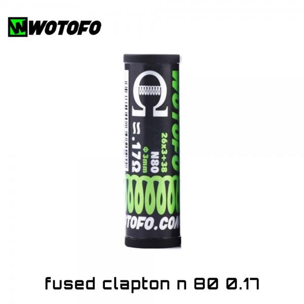 Wotofo 3-Core Fused Clapton Ni80 Coils - Ετοιμες Αντιστασεις