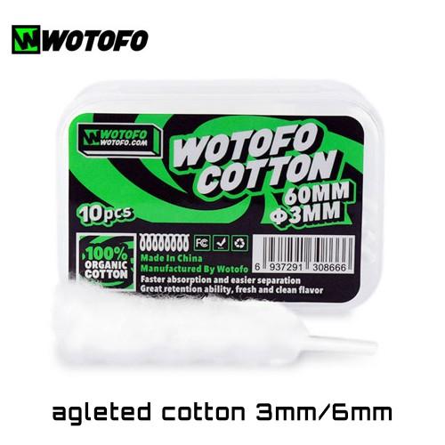 Wotofo Agleted Cotton Οργανικο βαμβακι