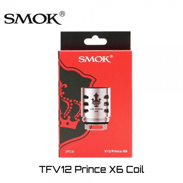 SMOK TFV12 Prince X6 Coils - Ανταλλακτικη Αντισταση