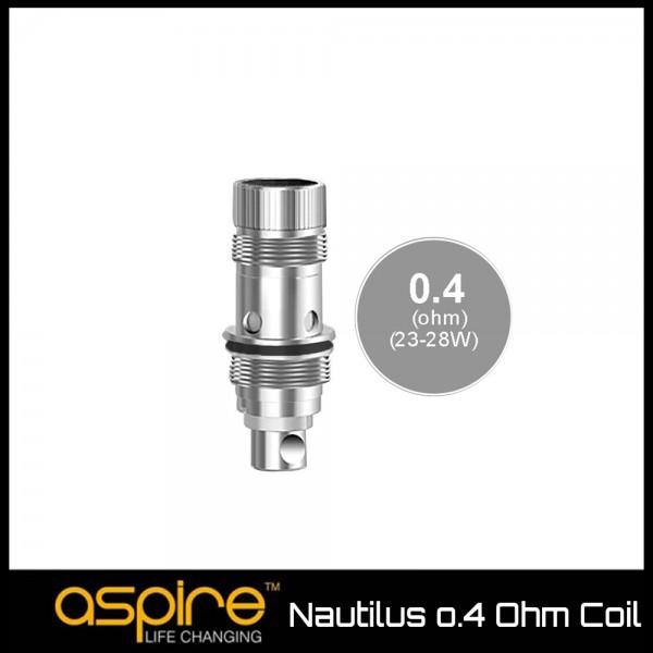 Aspire Nautilus BVC 0.4 Ohm Coils - Ανταλλακτική Αντίσταση