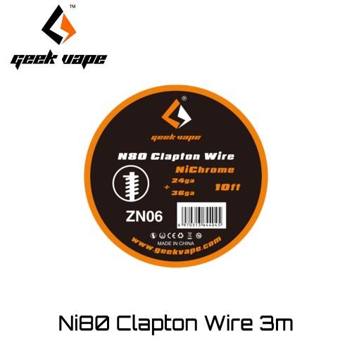 GeekVape Clapton Ni80 wire Συρμα
