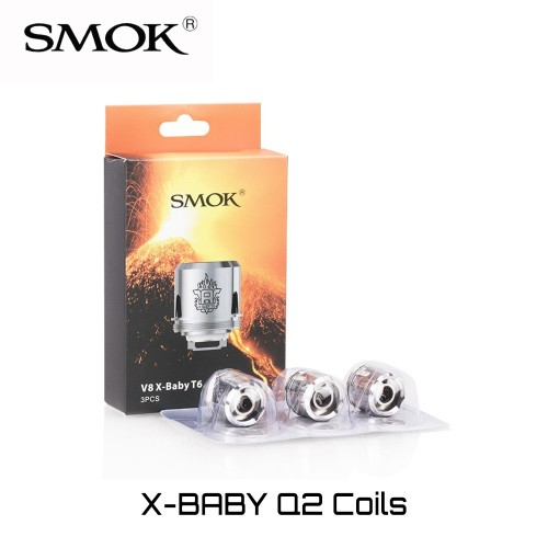 SMOK TFV8 X-Baby Q2 Coils - Ανταλλακτικη Αντισταση