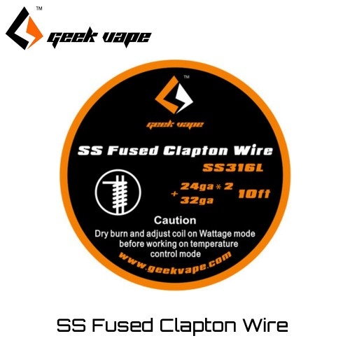 Geekvape SS Fused Clapton wire SS316L Συρμα