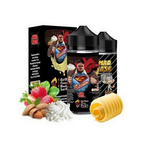 Mad Juice Butter Man 20ml 100ml μπουκάλι