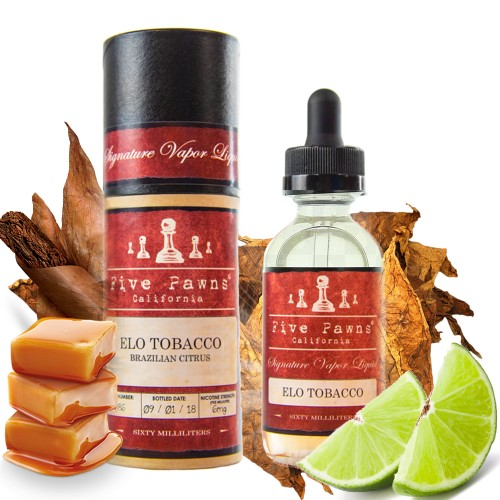 ELO Tobacco Five Pawns Mix & Vape 20/60ml
