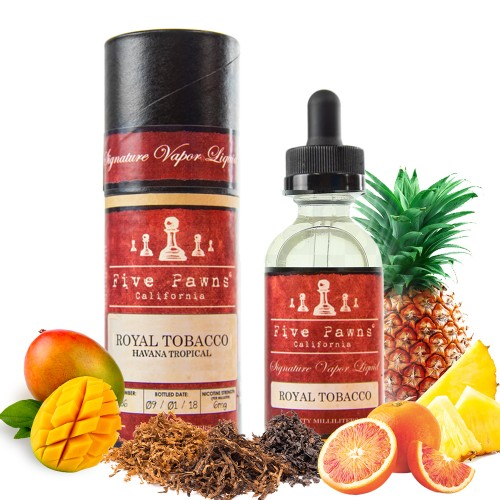Royal Tobacco Five Pawns Mix & Vape 20/60ml