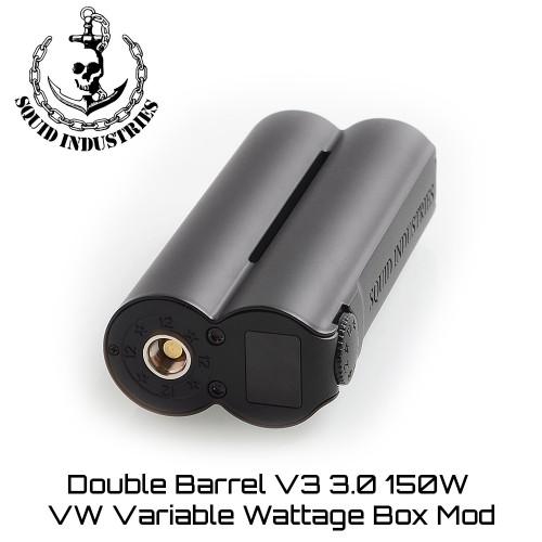 Squid Industries Double Barrel V3 150W Box Mod